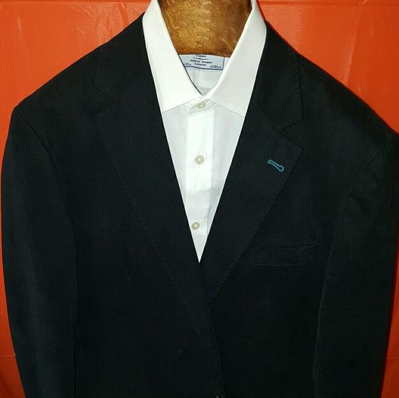 Ted Baker London Other - Ted Baker London mens Blazer 44R navy blue cotton